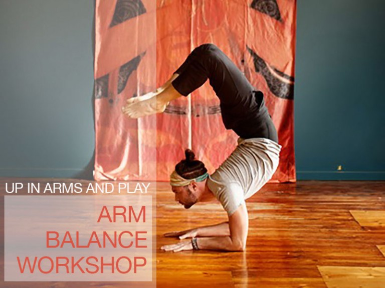 Up in arms in play—arm balance workshop