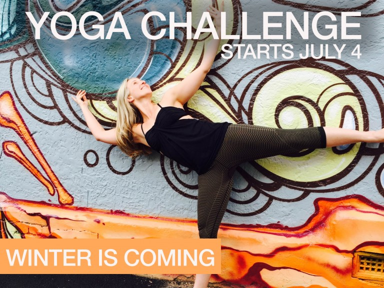 Winter is coming—July yoga challenge