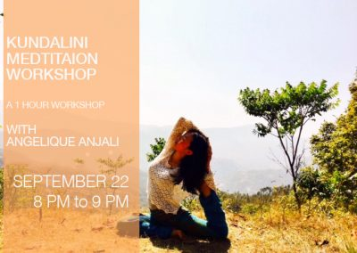Kundalini Meditation Workshop