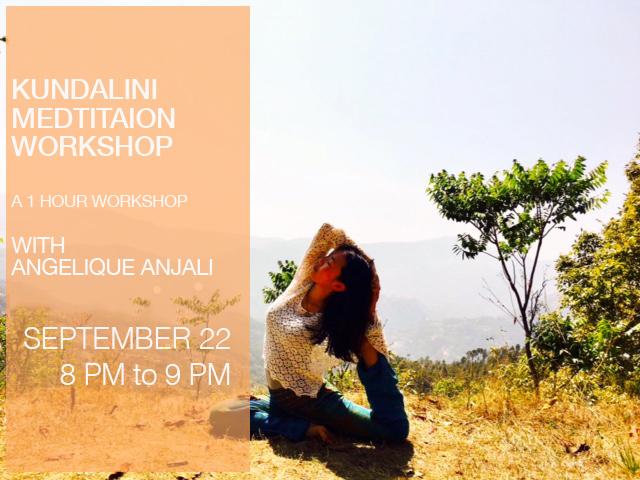 Kundalini Meditation Workshop